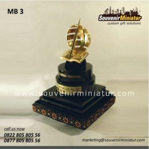 Souvenir Miniatur Bangunan Monumen