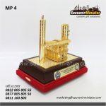 Souvenir Miniatur Pabrik Tambang
