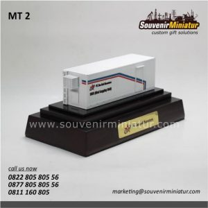 Souvenir Miniatur Kontainer Mud Log
