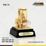 Souvenir Miniatur Bank Mandiri
