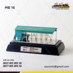 Souvenir Miniatur Bangunan Gedung EC Salak