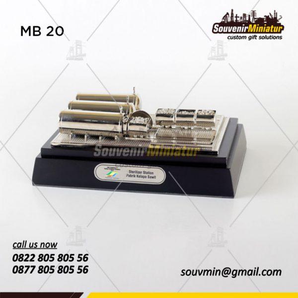 MB20 Miniatur Bangunan Pabrik Kelapa Sawit