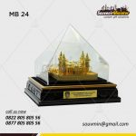 Souvenir Miniatur Bangunan Badan Pengelola Perbatasan Pemprov Kepulauan Riau