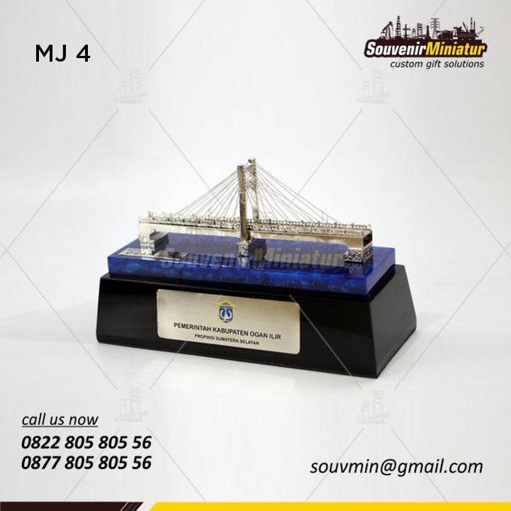 Miniatur Jembatan Pemerintah Kabupaten Ogan Ilir