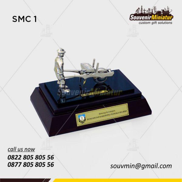 Souvenir Miniatur Custom Pemerintah Kabupaten Bangka Selatan done