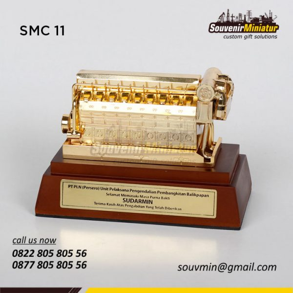 SM11 Miniatur PLTD PT PLN UP Balikpapan