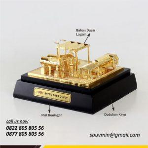 Souvenir Miniatur Custom SPPBE Arba Group