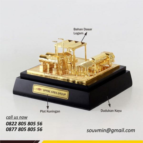 Detail Detail Bahan Souvenir Miniatur Custom SPPBE