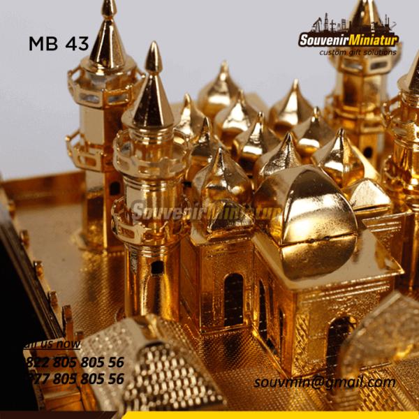 Detail Souvenir Miniatur Masjid Unik