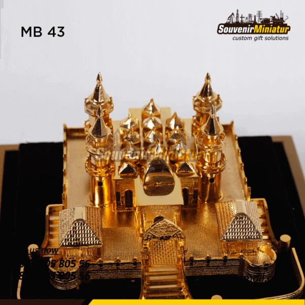 Detail Atas Souvenir Miniatur Masjid Unik