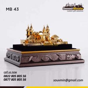 Souvenir Miniatur Masjid Unik