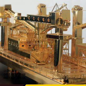 MK19 Miniatur Kapal FLF Ratu Kumala PT Pelita Samudera Shipping