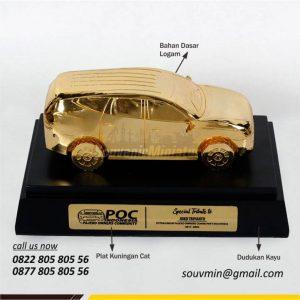 MK22 Miniatur Mobil Pajero Indonesia