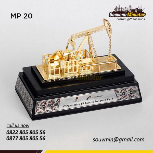 MP20 Miniatur Pertambangan Angguk Gerak PT Pertamina