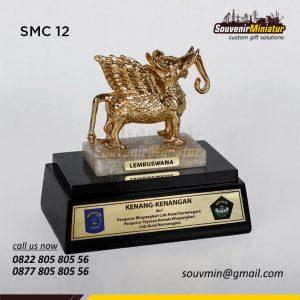 SMC12 Souvenir Miniatur Lembuswana Pengurus Bhayangkari Kutai Kartanegara
