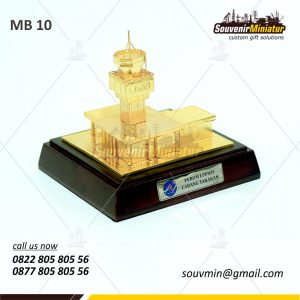 Souvenir Miniatur Bangunan Air Navigation