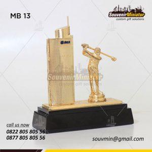 Souvenir Miniatur Gedung BCA