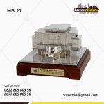 Souvenir Miniatur Gedung Politeknik Pelayaran Banten