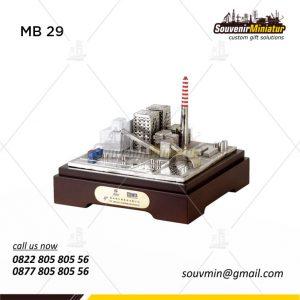 Souvenir Miniatur Bangunan PT Tenag