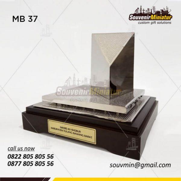 Miniatur Masjid As Shobur Kabupaten Tulang Bawang