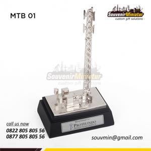 Souvenir Miniatur Tower Protelindo