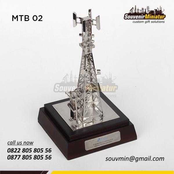 Miniatur Tower BTS Centratama