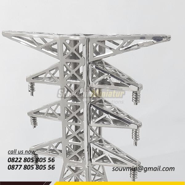 Detail Miniatur Tower PLTA
