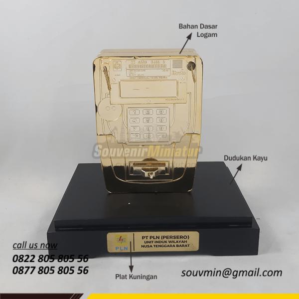 Detail Elemen Miniatur Custom Volt Meter