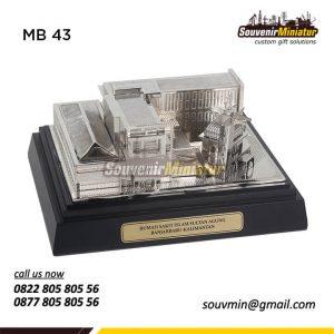 Souvenir Miniatur Rumah Sakit Islam