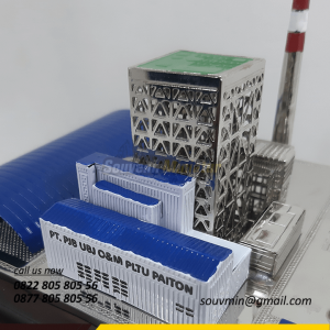 Souvenir Miniatur Pertambangan PLTU