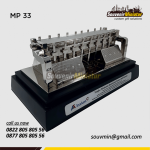 Souvenir Miniatur Tungku Pelebur Al