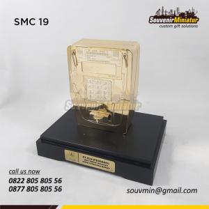 Souvenir Miniatur Custom Volt Meter