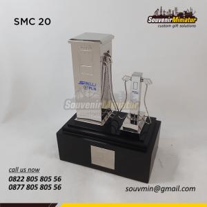 Souvenir Miniatur Custom PLN SPKLU