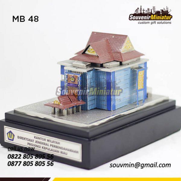 MB48 Miniatur Bangunan Kantor Wilayah DJP Provinsi Kepulauan Riau