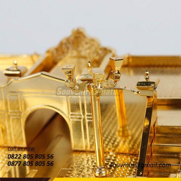 MB49 Detail Miniatur Bangunan Plengkung Gading Yogyakarta