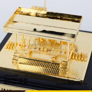 Souvenir Miniatur Pertambangan Pengisian Gas Pertamina