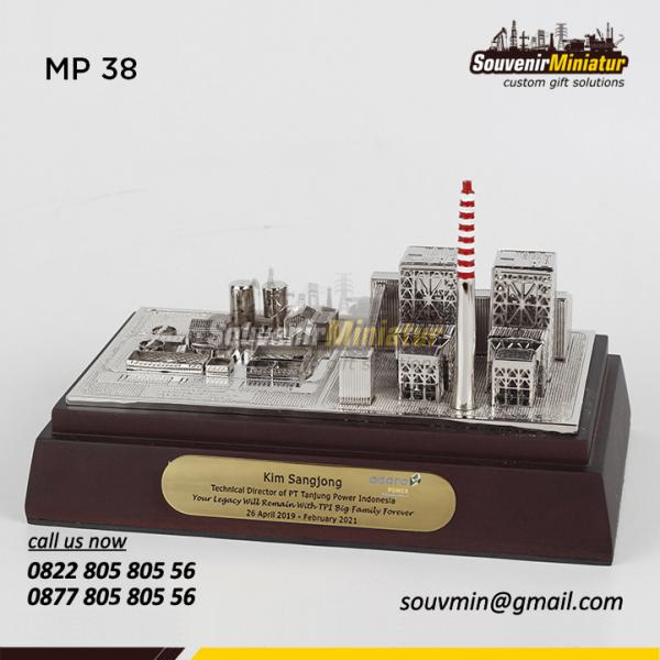 Miniatur Pertambangan PT Tanjung Power Indonesia