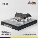 Souvenir Miniatur Bangunan Gedung Pemerintah Kota Sukabumi
