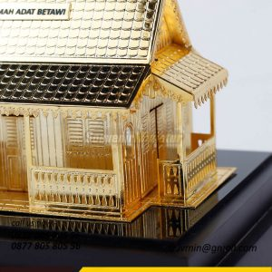 Souvenir Miniatur Bangunan Rumah Ad